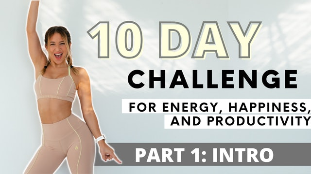 10 DAY MORNING WORKOUT CHALLENGE: Intro