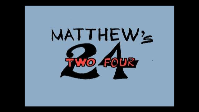 HESUS JOY CHRIST / Matthew's Two Four