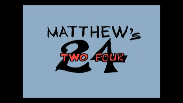 HESUS JOY CHRIST / Matthew's Two Four