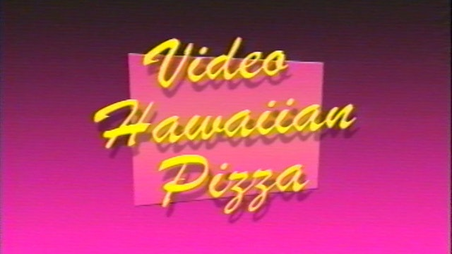 Video Hawaiian Pizza - Music Edition