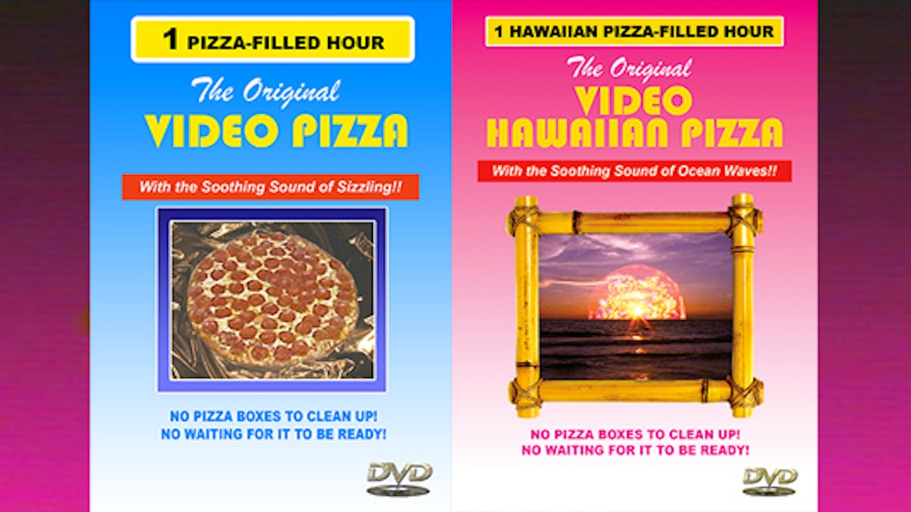 Video Pizza + Video Hawaiian Pizza Deluxe Package