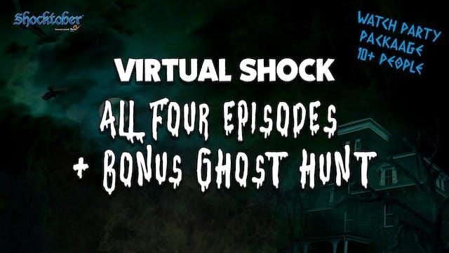 Virtual Shock: All Four Nights + Bonus (10+People)