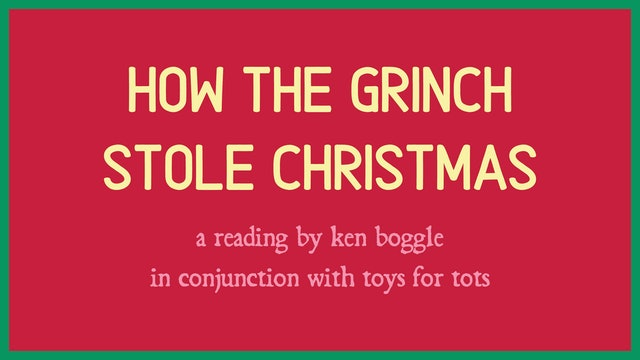 How the Grinch Stole Christmas Reading