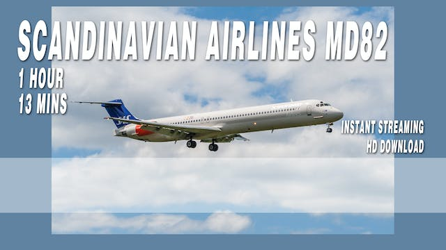 Scandinavian Airlines MD82