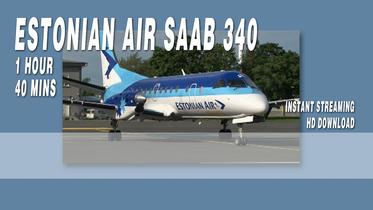 Estonian Air Regional SAAB 340