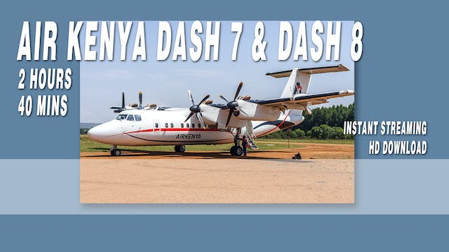 Air Kenya Express Dash 7 & Dash 8