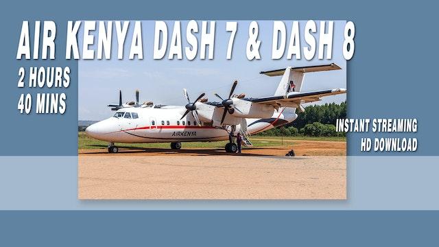 Air Kenya Express Dash 7 & Dash 8