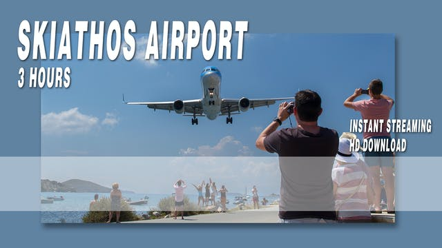 Skiathos Airport Video