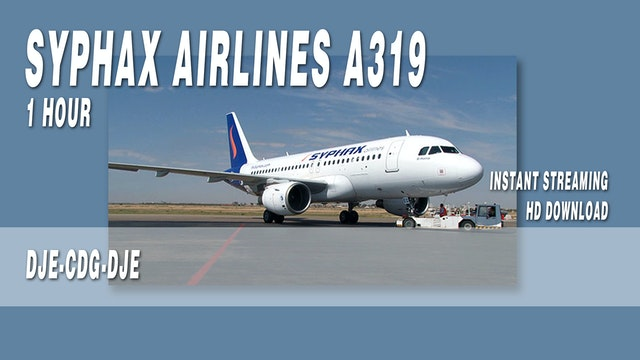 Syphax Airlines A319 BONUS DJE-CDG-DJE