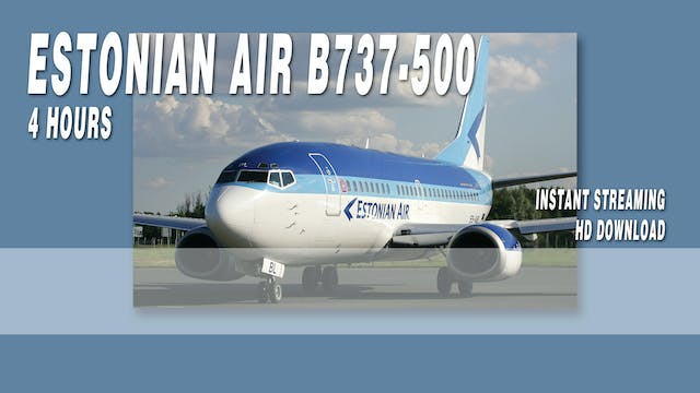Estonian Air B737-500