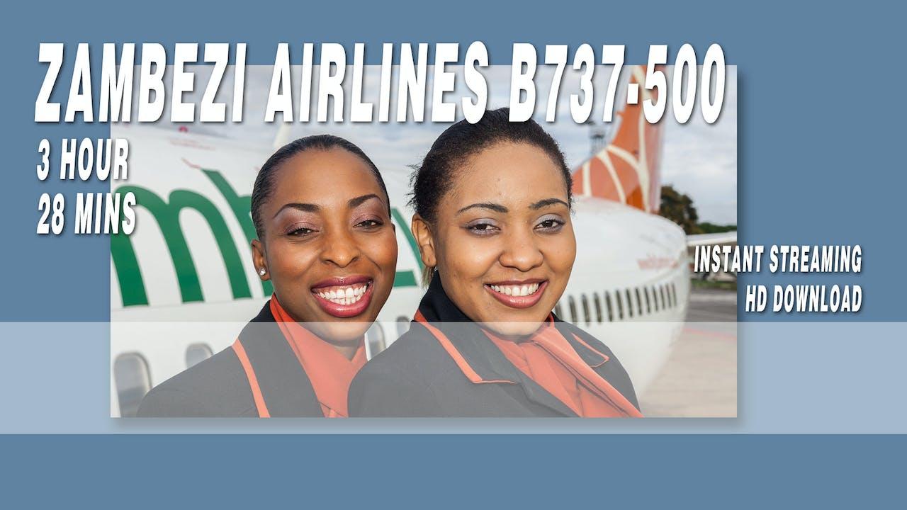 Zambezi Airlines B737-500