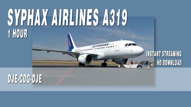 Syphax Airlines A319 BONUS Flights DJE-CDG-DJE