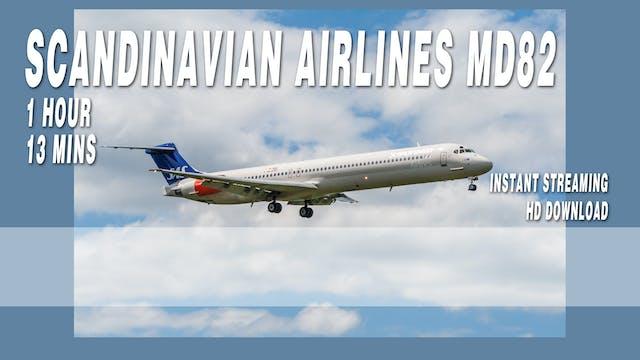 Scandinavian Airlines MD82