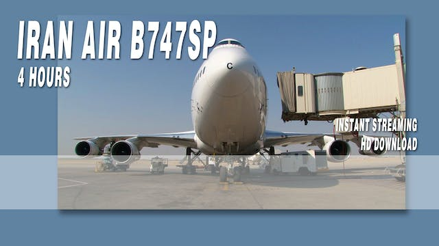 Iran Air B747SP