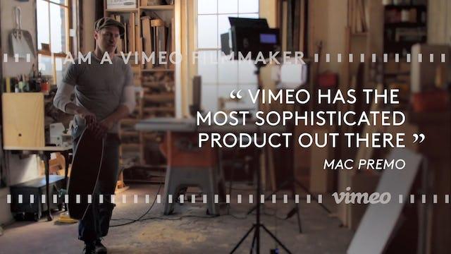 I am a Vimeo Filmmaker