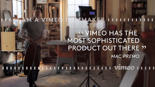 I am a Vimeo Filmmaker
