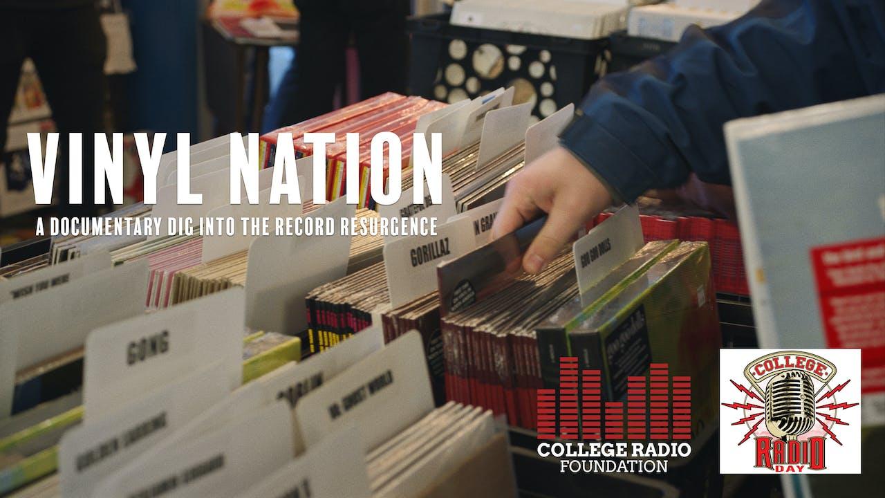 The College Radio Foundation Presents VINYL NATION