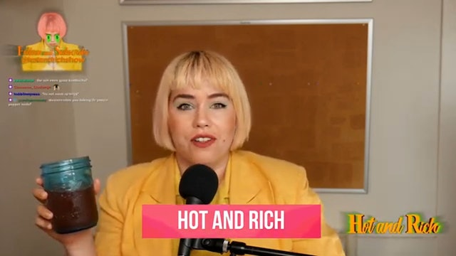 Hot and Rich - 9/2 - Chet Hanks Fan Fic with guest Kate Shapiro