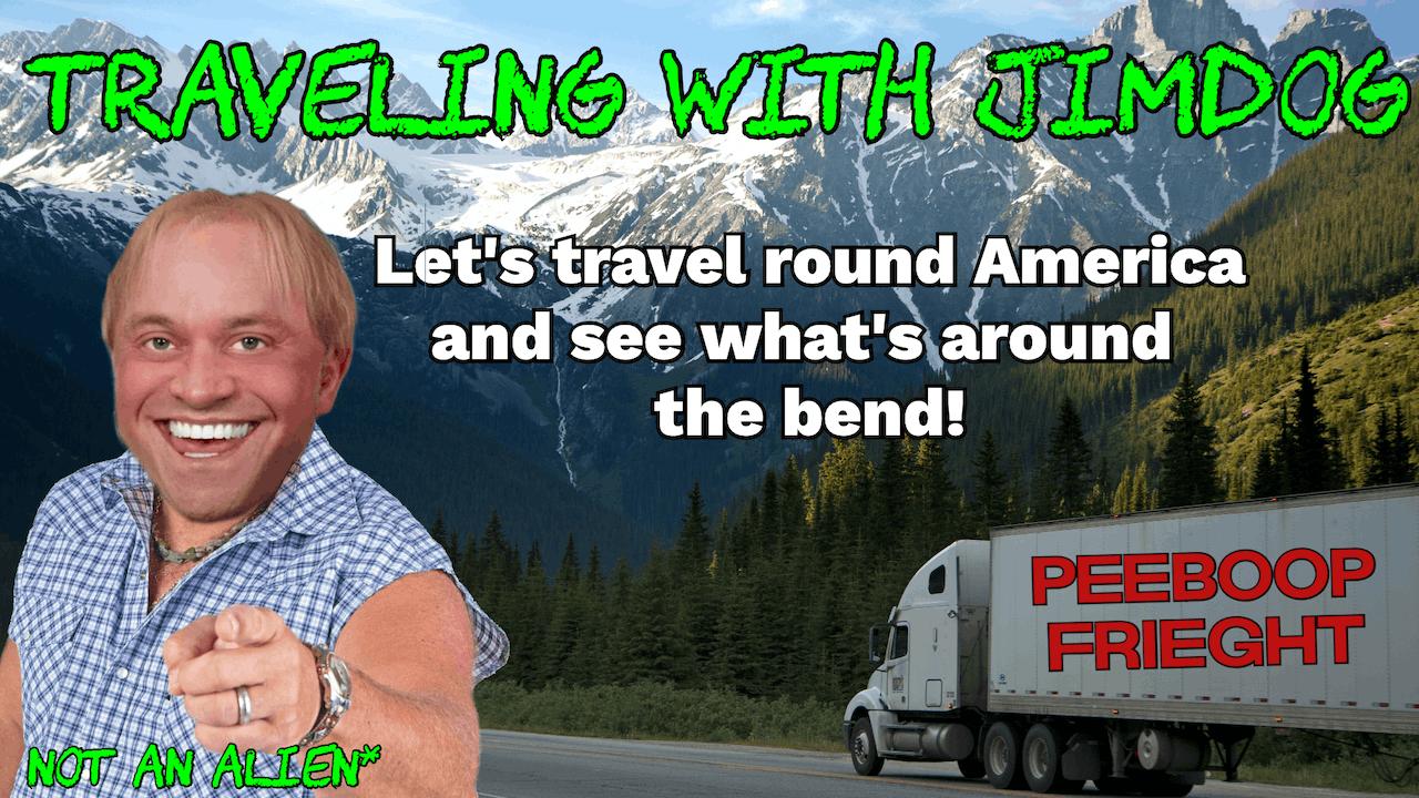 Traveling with Jimdog