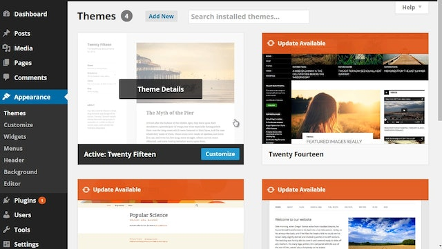 Wordpress Customization: 3 - Customize and Design