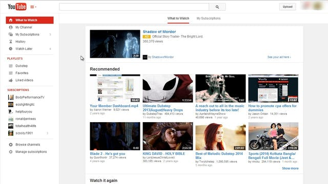 Mastering Youtube: 1 - Youtube Overview