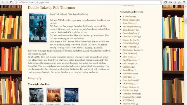 Bestseller Blueprint: 7 - Book Blogs