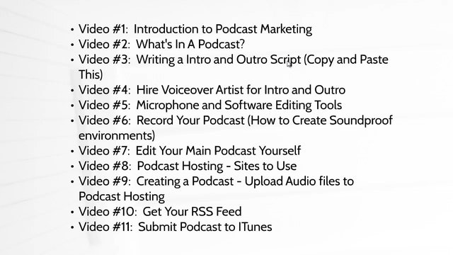 Start a Podcast: 1 - Intro