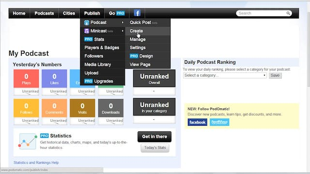 Start a Podcast: 10 - Get an RSS Feed