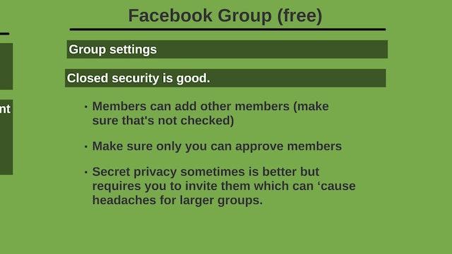 Facebook Traffic: 7 - Setup