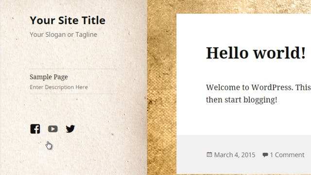 Wordpress Customization: 6 - Social L...