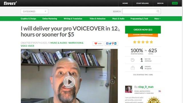 Start a Podcast: 4 - Hire a Voiceover Artist
