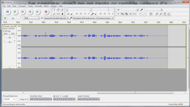 Start a Podcast: 6 - Recording the Podcast
