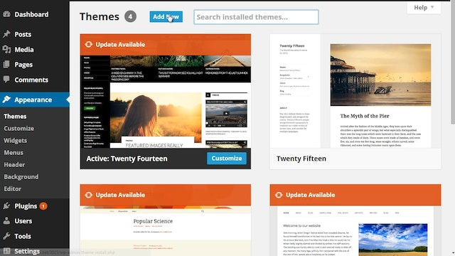Wordpress Customization: 2 - Install ...