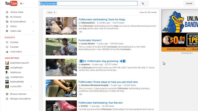 Mastering Youtube: 2 - Researching
