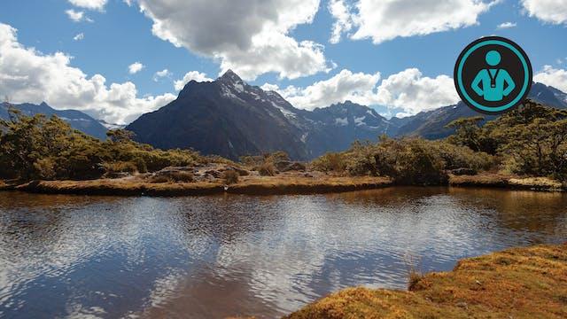 South Island, New Zealand Run | Johnny
