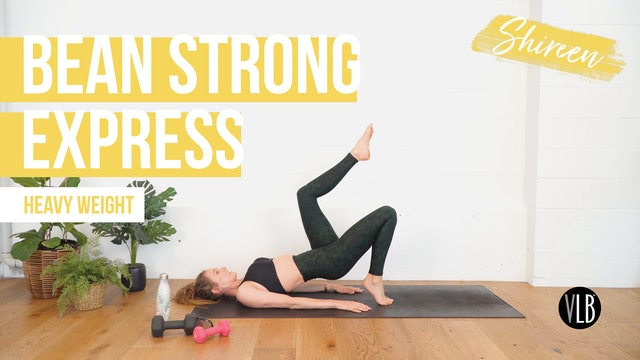 **NEW** Bean Strong Express with Shireen