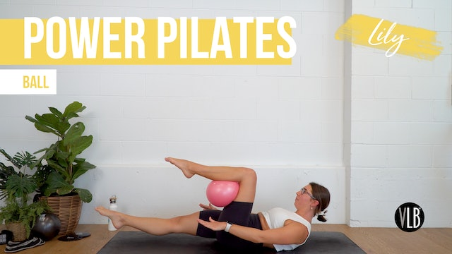Power Pilates with Lily