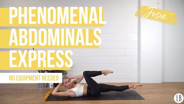 DAY 4: Phenomenal Abdominals [Express] With Josie