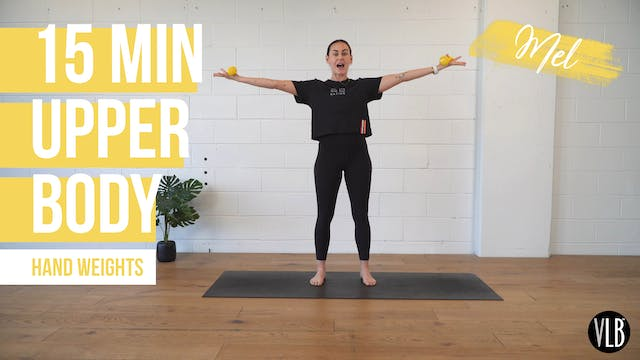 15 Min Upper Body with Mel