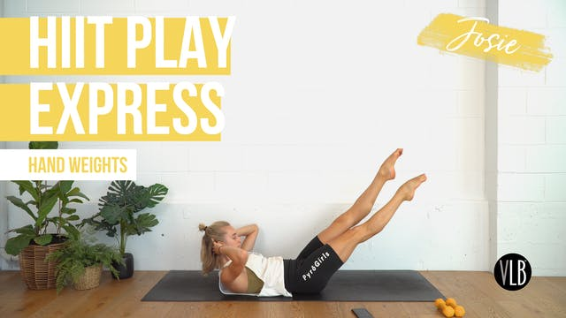 TOP PICK: HIIT Play Express with Josie