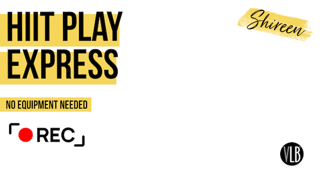 Live On Demand: HIIT Play Express with Shireen