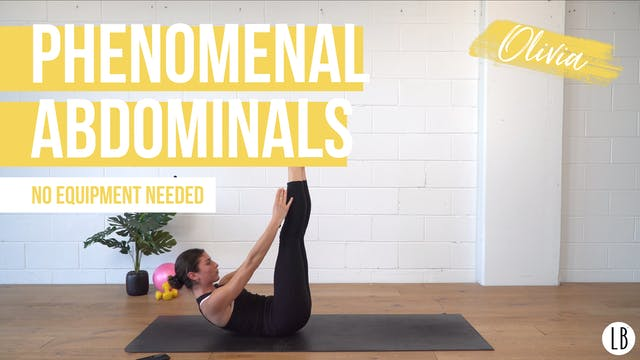 Phenomenal Abdominals with Olivia