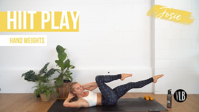 HIIT Play with Josie