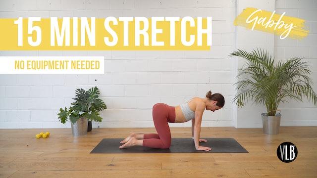 15 Min Stretch with Gabby