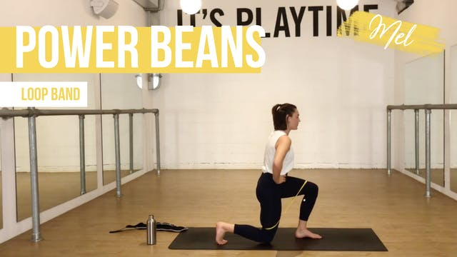 Power Beans with Mel
