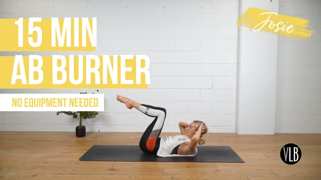 15 Min Ab Burner with Josie