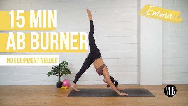 **TOP PICK** 15 Min Ab Burner with Emma