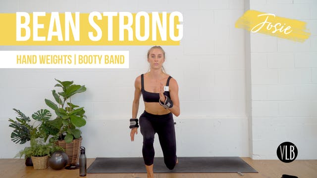 Bean Strong with Josie