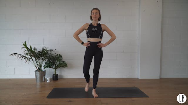 15 min Lower Body Burn with Lizzie
