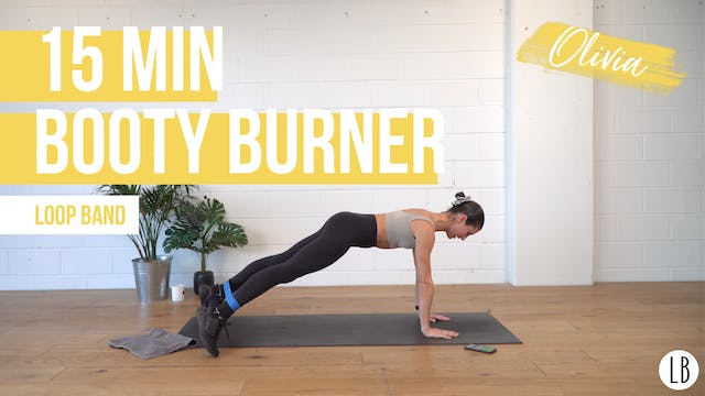 **TOP PICK** 15 Min Booty Burner with...